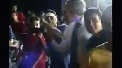 Bush dances in brazil