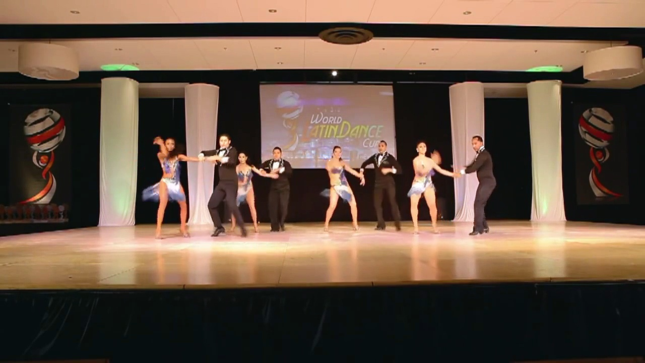ALMA LATINA – USA  /  USA – World Latin Dance Cup 2012 – SALSA TEAM – 2nd place