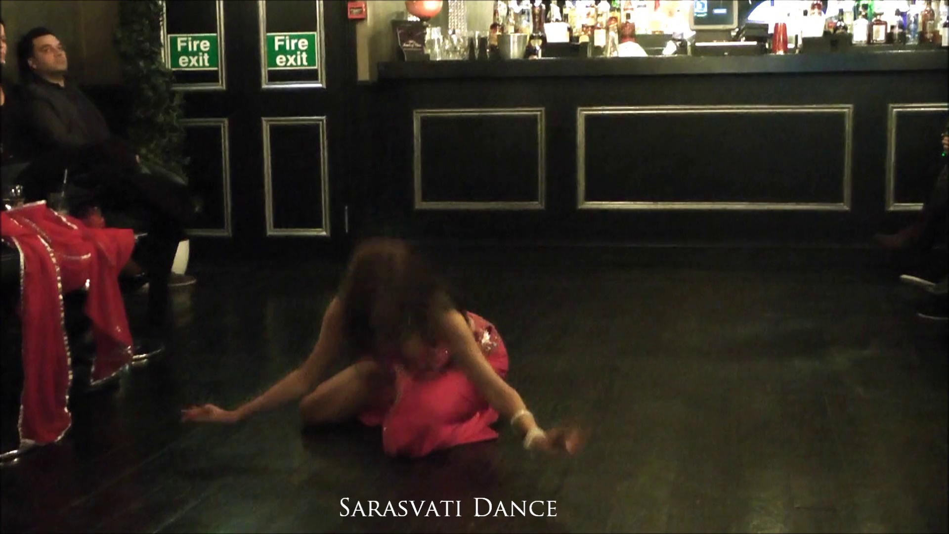 Sarasvati dance belly dance double veil Turkish