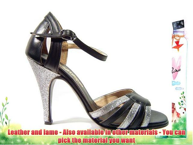 Mythique Women's Tango Ballroom Salsa Latin Leather Dance Shoes Agustina 10 UK