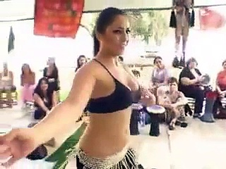 رقص Live Hot And Sexy Dance recording-By arabic Girl-Belly Dance