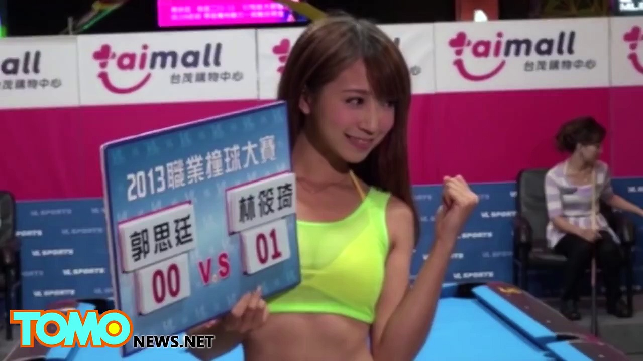 Sexy Asian model and dancer supports Brazils football team – Ultimate TomoGirls compilation