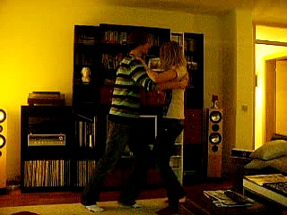 Salsa dancing for fun :)