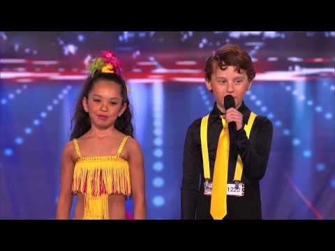 Yasha & Daniela – Amazing and Talented Kid Dancers (America's Got Talent)