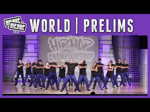 Yo! Hip Hop Dance Company – Brazil (MegaCrew) at the 2014 HHI World Prelims
