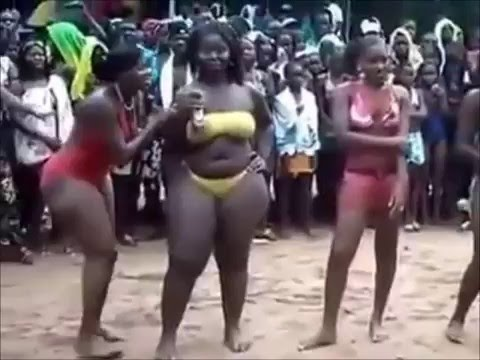 Mapouka Big Ass Sexy Dance To The Beach