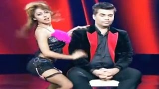 India's Got Talent Season 6 – Karan Johar Gets Lap Dance – The Bollywood