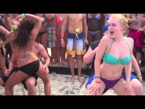 Hottest Spring Break Lap Dance Ever