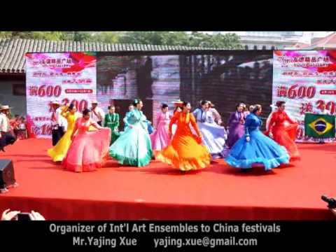 15th Beijing International Tourism Festival, 2013 – Brazil Folk Dance (GAS) 1
