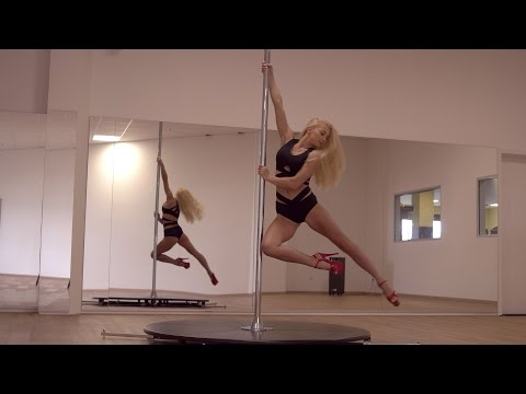 Pole Dance Moves – Beginner Level – Spinning Pole