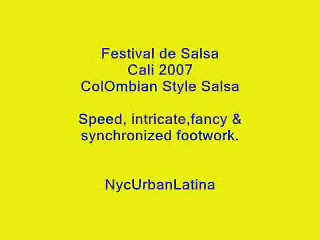 Cali Swing: Colombian Salsa Dancing Style (Pt. 10)