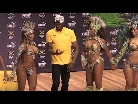 Usain Bolt Dances His Way Out Of His Press Conference