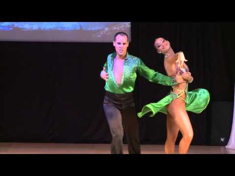 Jose Aranda & Maria vela – Spain- World Latin Dance Cup 2012 – Salsa On 1- Semifinals