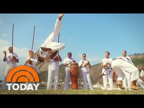 Capoeira: Meet Brazil's Unique Blend Of Martial Art And Dance | TODAY