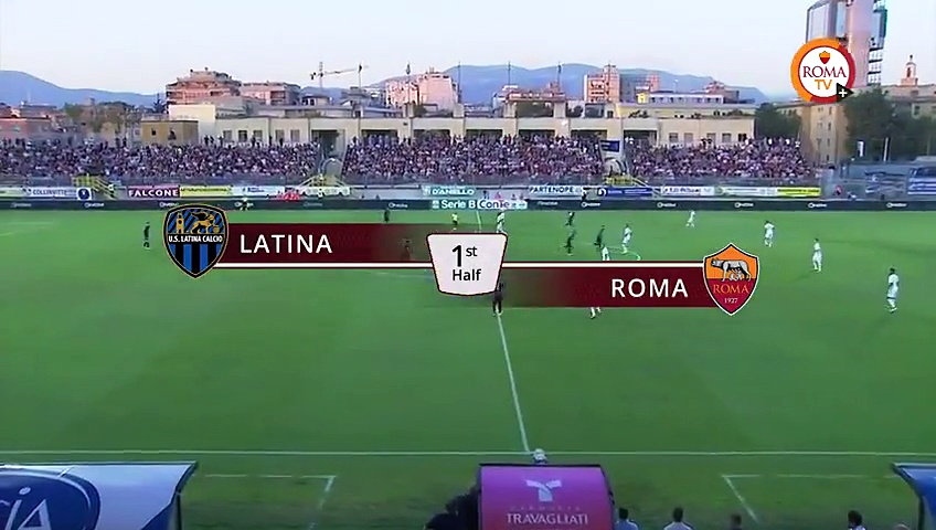 Latina 0-1 AS Roma – All Goals & Full Highlights 10.08.2016 HD