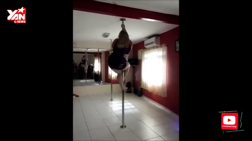 Emma Haslam Pole Dancing