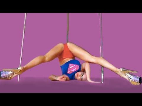 Superman Pole Dance