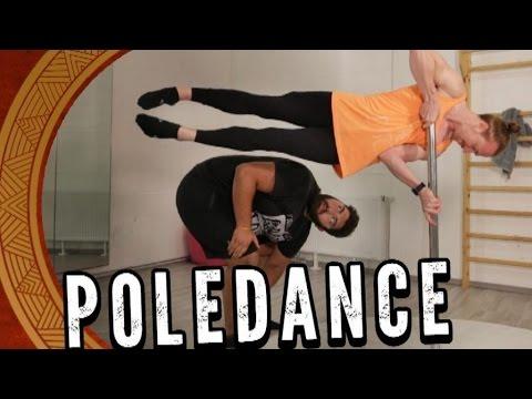 Pole Dance entgegen der Schwerkraft! ? Faisal Kawusi trainiert an der Stange