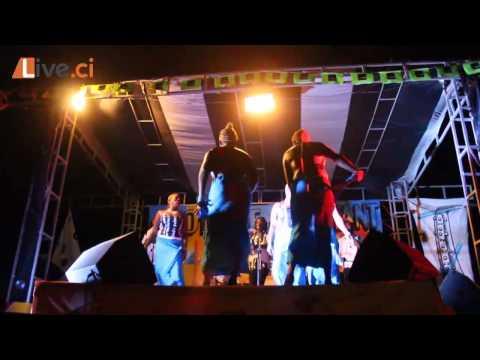 LIVE.CI / Démonstration de Mapouka au Festival la Côtière en Chantant