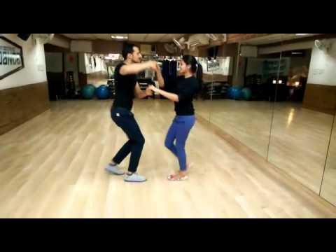 Gulabi Aankhen | Learn Salsa on Bollywood Song