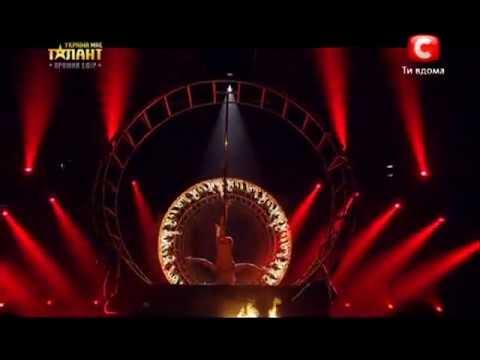 Anastasia Sokolova – pole dance 2 – ukraine's got talent