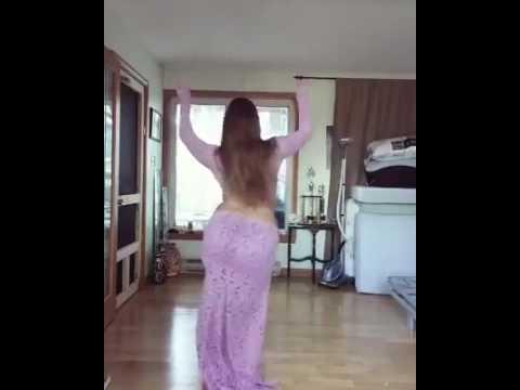 Beautiful Arab dance