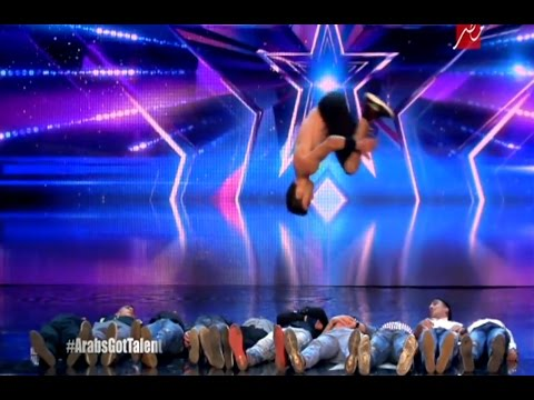 Best Jamnastic Dance – Arab Got Talent 5 – Ep.04 – 01 April 2017