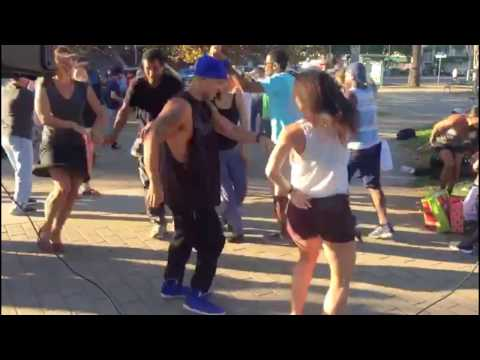 Salsa dancing in Oakland