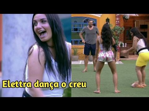 """""""BBB17"""" Brothers ensinam Elettra a dançar a dança do creu """"funk""""16/03/2017"""