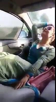 Chahat Khan sexy dance in car