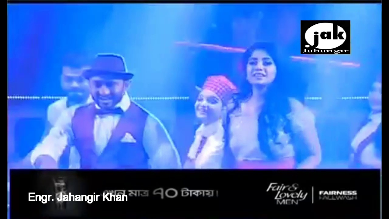 Neil's and Shahtaj Salsa Dance performance in Fair and Lovely men Channel I Hero powered by BD Army
