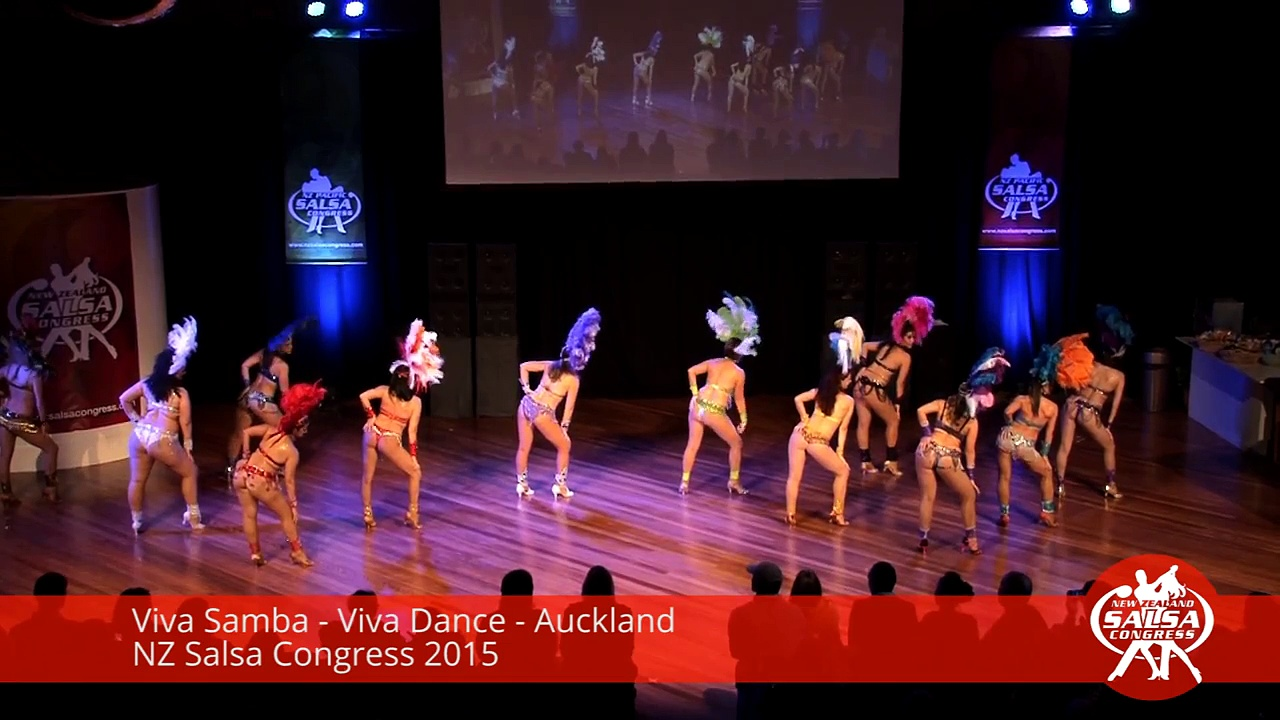 Viva Samba   Viva Dance   Auckland   NZ Salsa Congress 2015