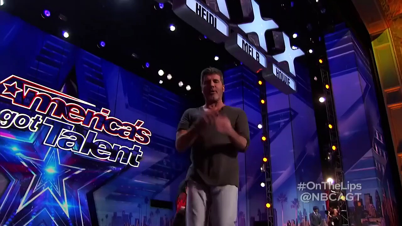 Simon Cowell's Got Talent! _ Knife Throwing, Lap Dancing & More _ Got Tal