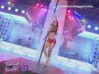 Melissa Loza Vigil Sexy Pole Dance
