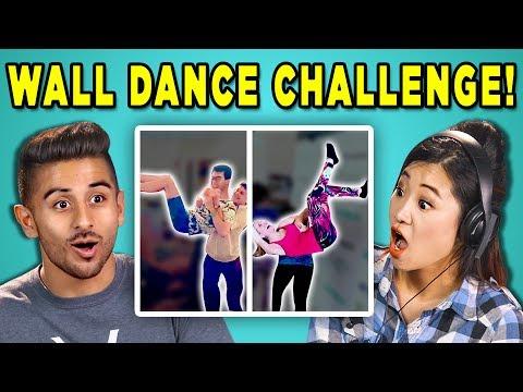 ADULTS REACT TO WALL DANCE CHALLENGE (#DabkeChallenge | Arab Dance)