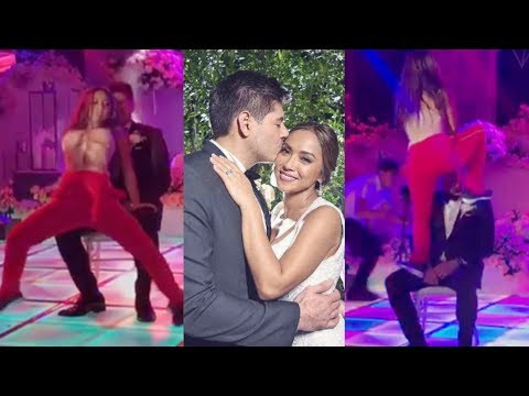 Rochelle Pangilinan's WILD DANCE with SEXBOMB at WEDDING Reception!