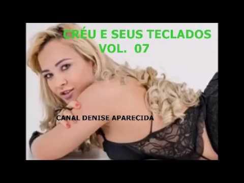 CRÉU E SEUS TECLADOS   PURO FORRÓ  O MELHOR DO CRÉU  CD COMPLETO