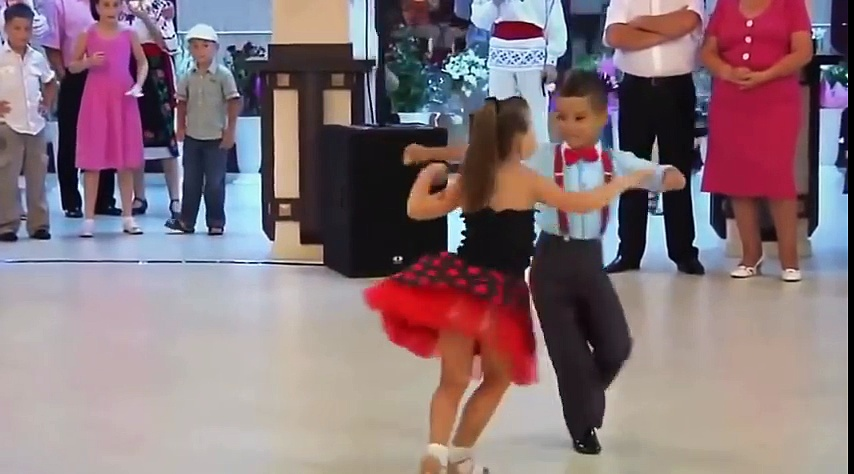 Salsa Dance Performance by Kids